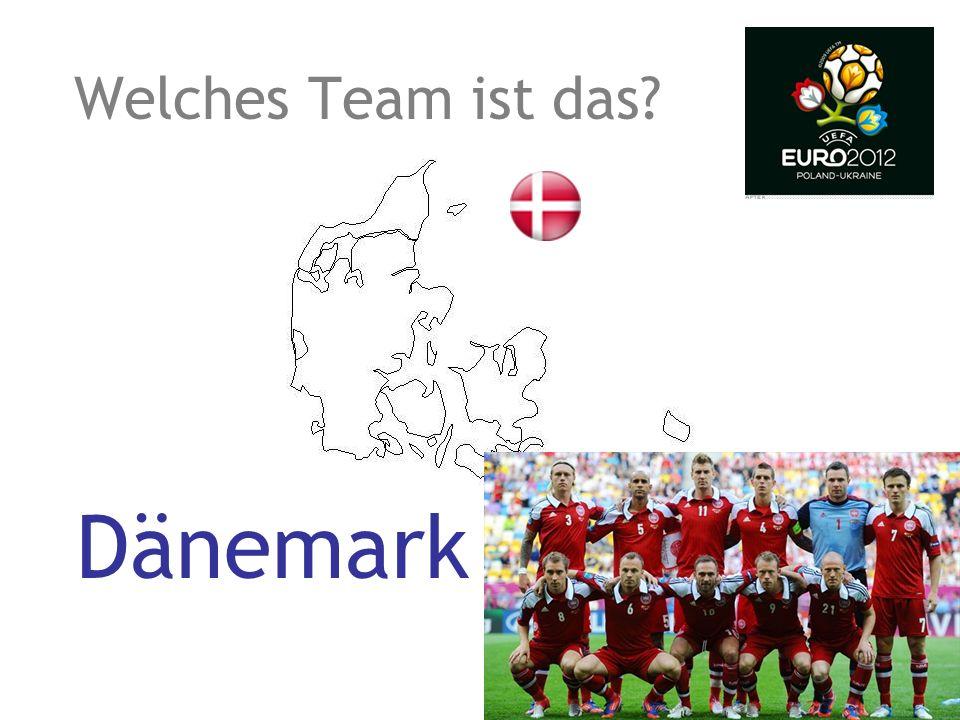 Welches Team ist das? Dänemark