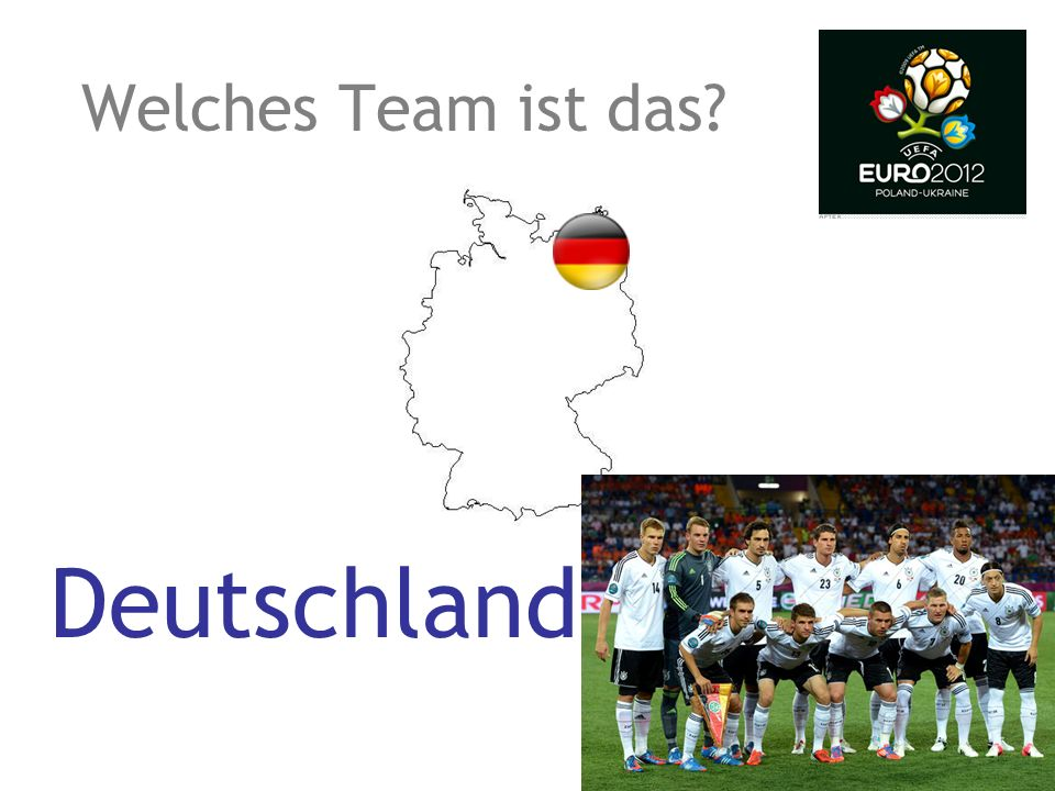 Deutschland Welches Team ist das?