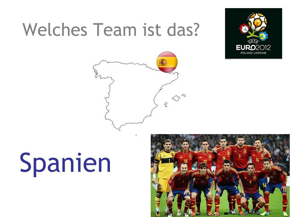 Welches Team ist das? Portugal
