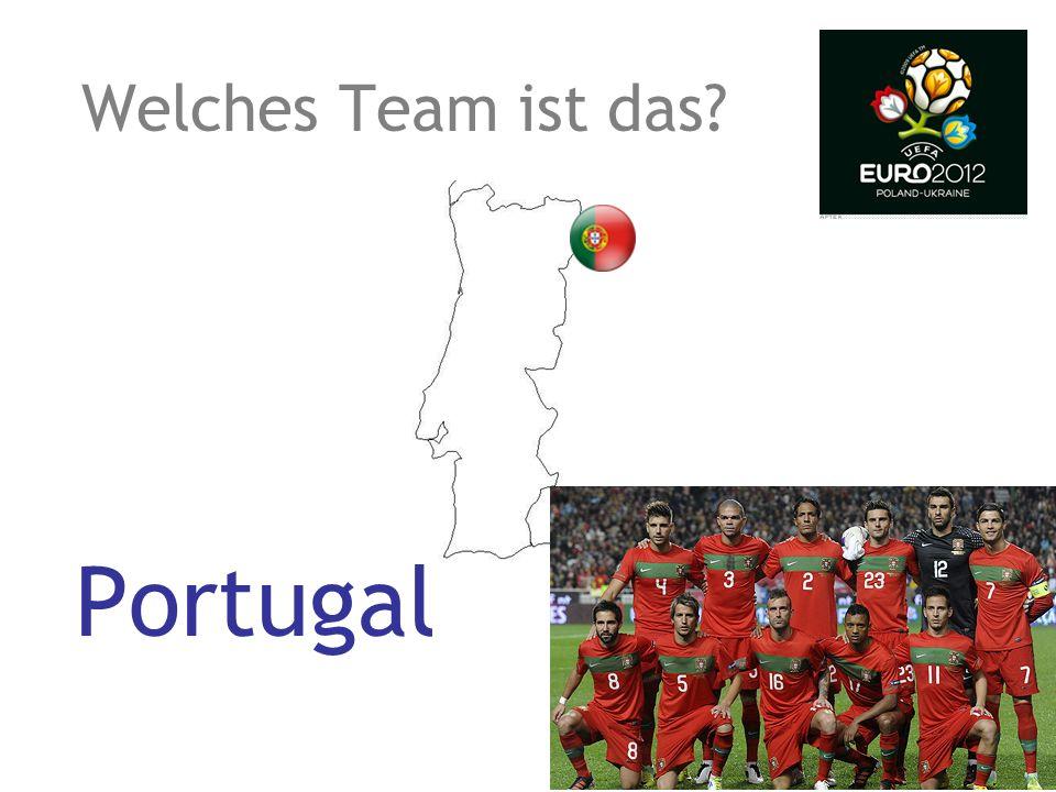 Welches Team ist das? England