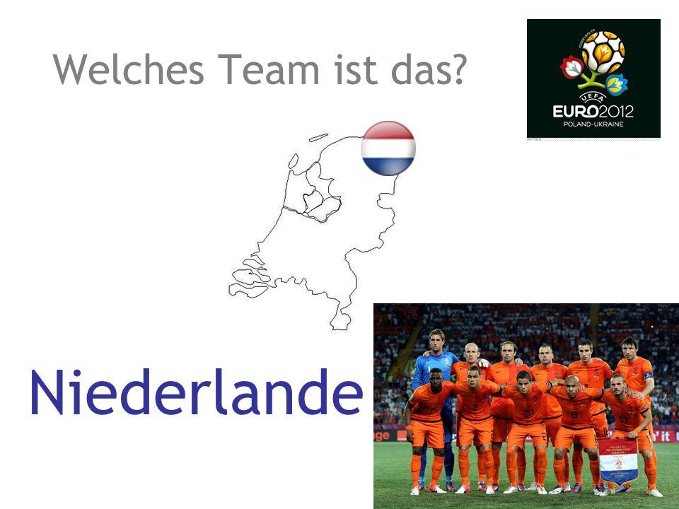 Welches Team ist das? Kroatien