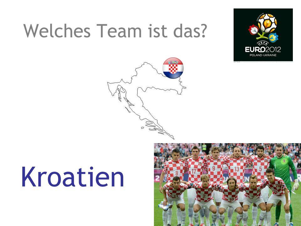 Welches Team ist das? Tschechische Republik