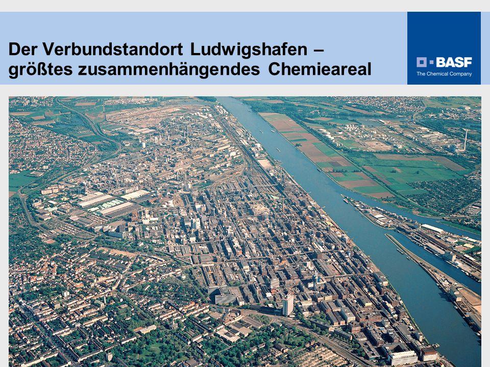1 Der Verbundstandort Ludwigshafen – größtes zusammenhängendes Chemieareal
