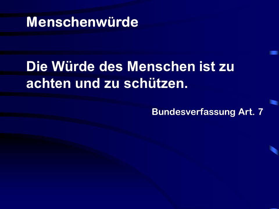 Bundesverfassung Art.