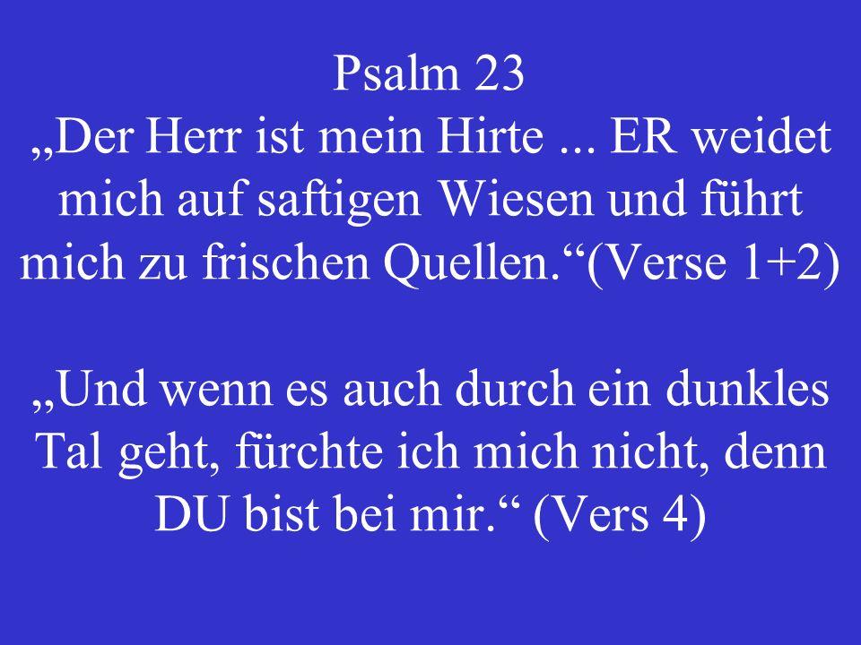 Römer 8,28 Denen, die Gott lieben, müssen alle Dinge zum Besten dienen.