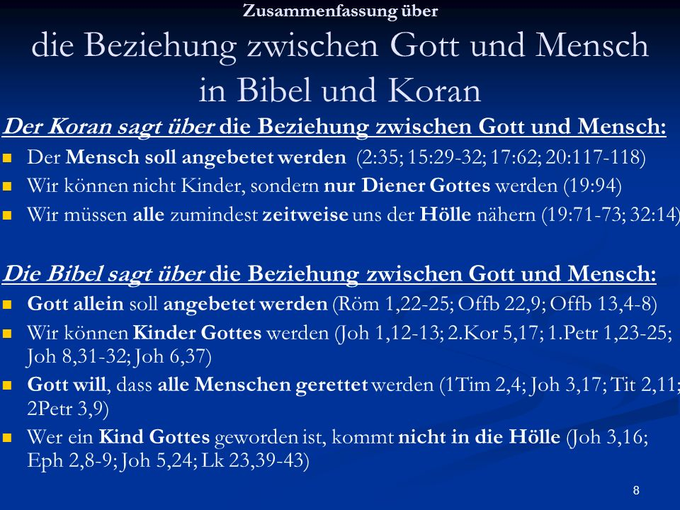 39 Fakten über den KORAN: Suren, die angeblich Prophetie enthalten (2.-9.