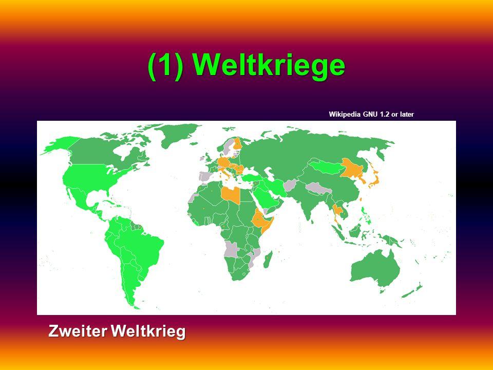 (1) Weltkriege Zweiter Weltkrieg Wikipedia GNU 1.2 or later
