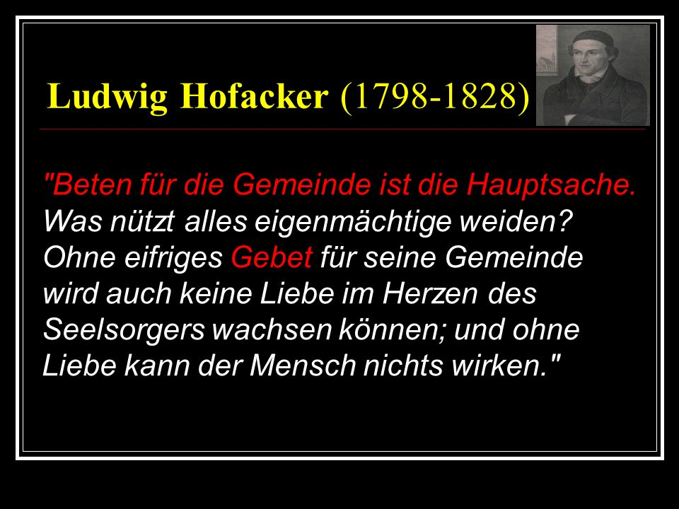 Ludwig Hofacker (1798-1828)