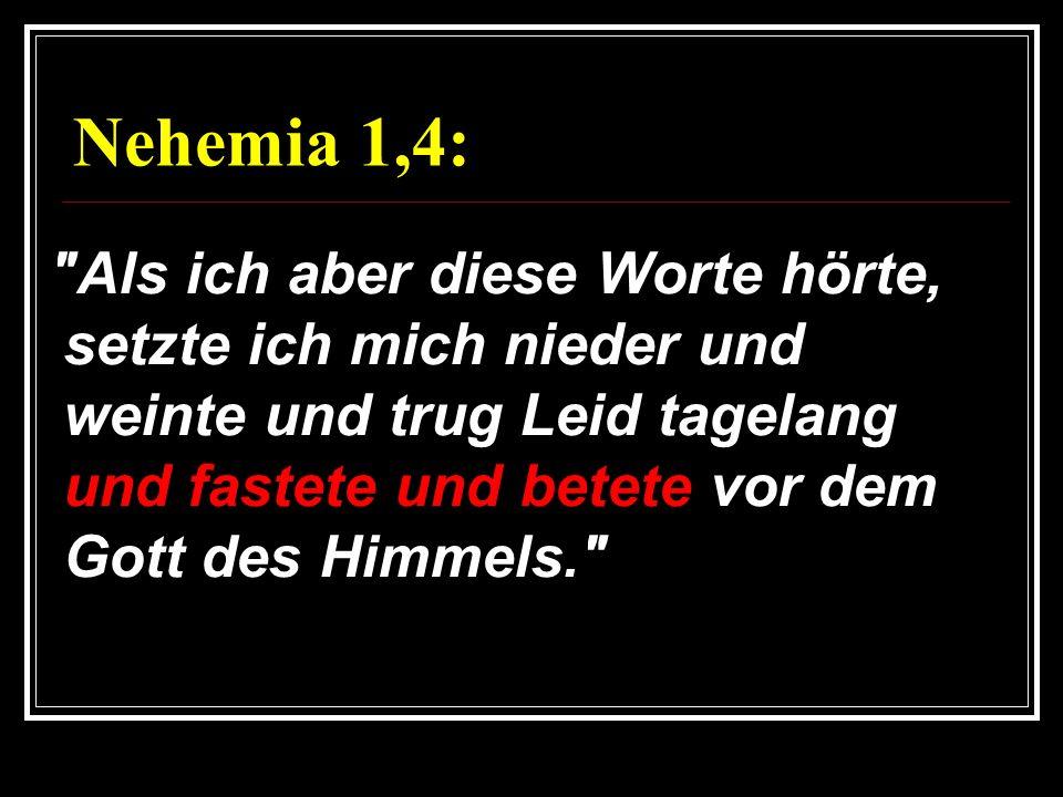Nehemia 1,4:
