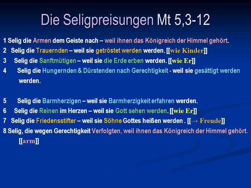 Selig die Trauernden 5,4 Ps 119,136: Wasserbäche fließen aus meinen Augen, weil man dein Gesetz nicht hält.
