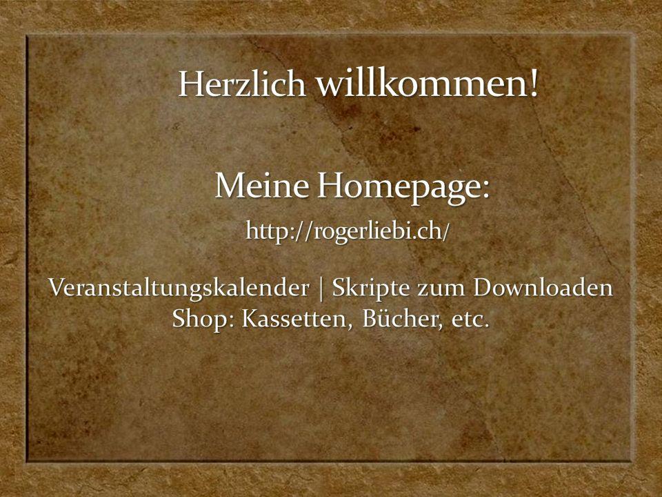 www.sermon-online.de Roger Liebi Gratisdownload von über 200 Vortrags-Files