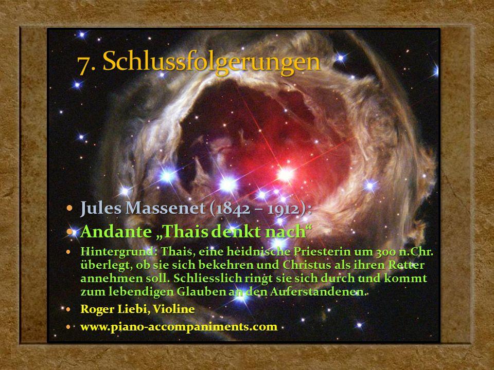 Jules Massenet (1842 – 1912): Jules Massenet (1842 – 1912): Andante Thais denkt nach Andante Thais denkt nach Hintergrund: Thais, eine heidnische Prie