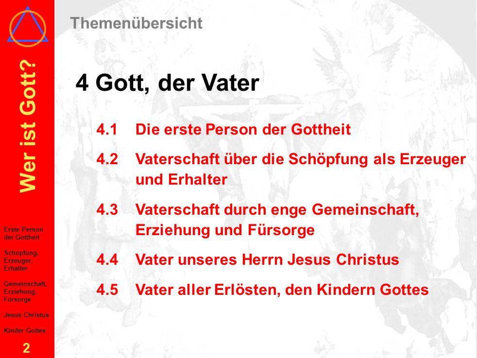 Das Allerheiligenbild, Albrecht Dürer, 1511. Gott, der Vater Wer ist Gott? SBS Trier-Karlsruhe-Mannheim-Mainz, 2003 4