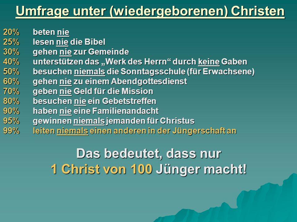 Gute Jüngerschaftsmaterialien Für die 1-zu-1-Arbeit Bibelgrundkurs Neues Leben mit Jesus, Teil 1+2 Für Gruppen (3-12 Personen) Grundkurs Training im Christentum, 0 – 4 - Kurs 0 ist evangelistisch - Kurs 1 legt einen guten Grund