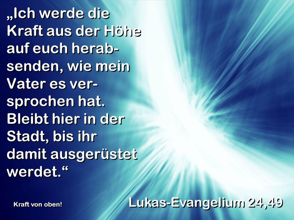 Wer auf mein Wort hört und dem glaubt, der mich gesandt hat, der hat das ewige Leben.