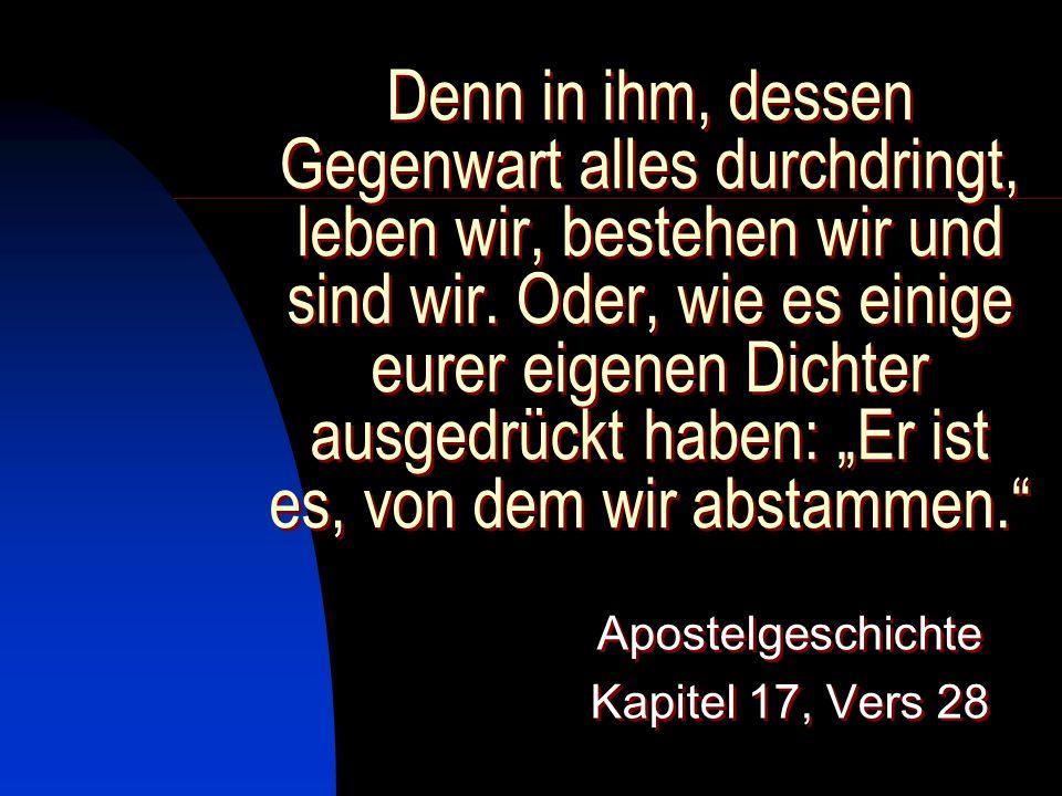 Trotz allem, was sie über Gott wussten, erwiesen sie ihm nicht die Ehre, die ihm zukommt, und blieben ihm den Dank schuldig.
