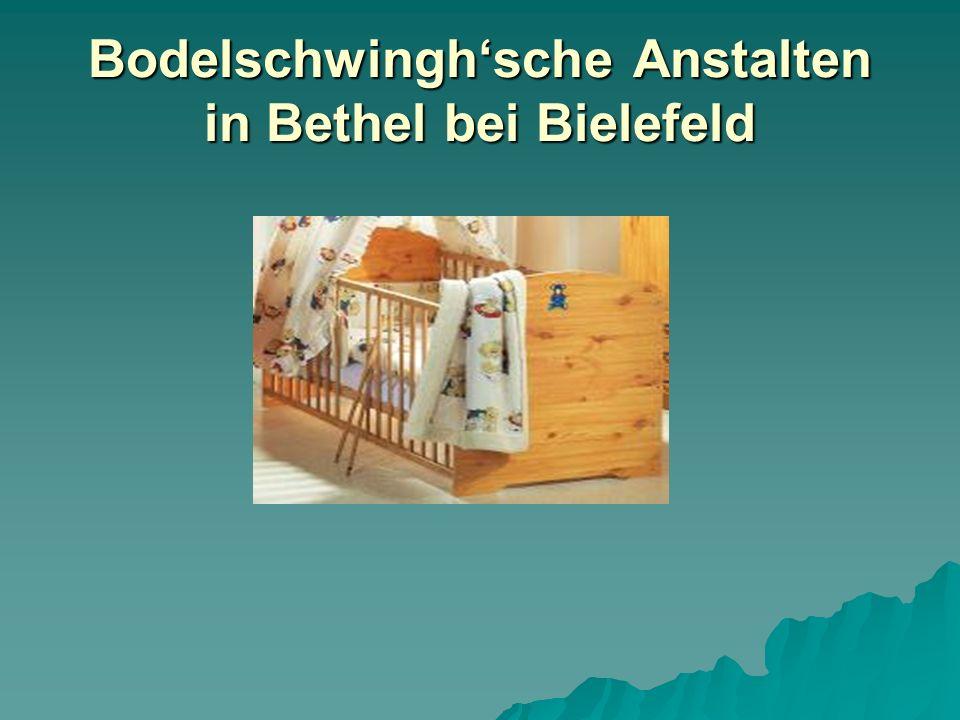 Bodelschwinghsche Anstalten in Bethel bei Bielefeld