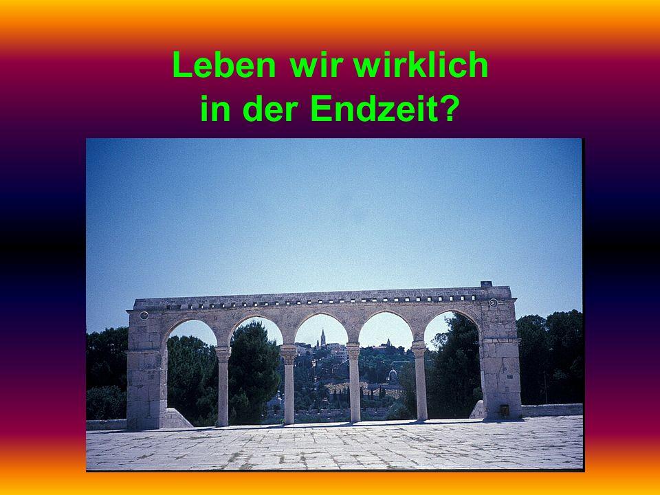 (40) Das Römische Reich erscheint wieder Die vier Weltreiche in Daniel 7: (1)Löwe = Babylonien (2)Bär = Persien (3)Leopard = Griechenland (4)Tier mit 10 Hörnern = Rom Das Römische Reich Offenbarung 13 und 17 behandeln das 4.