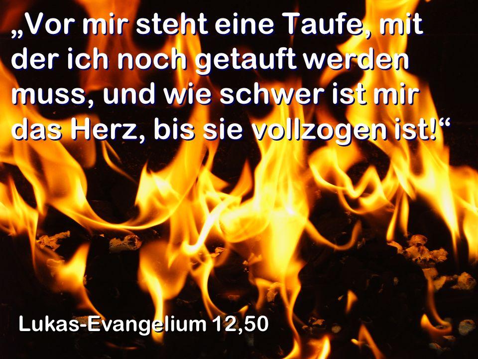 In einer nächtlichen Vision sagte der Herr zu Paulus: Du brauchst dich nicht zu fürchten.