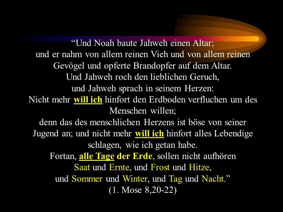Bündnisse in 1.Mose Der sog.