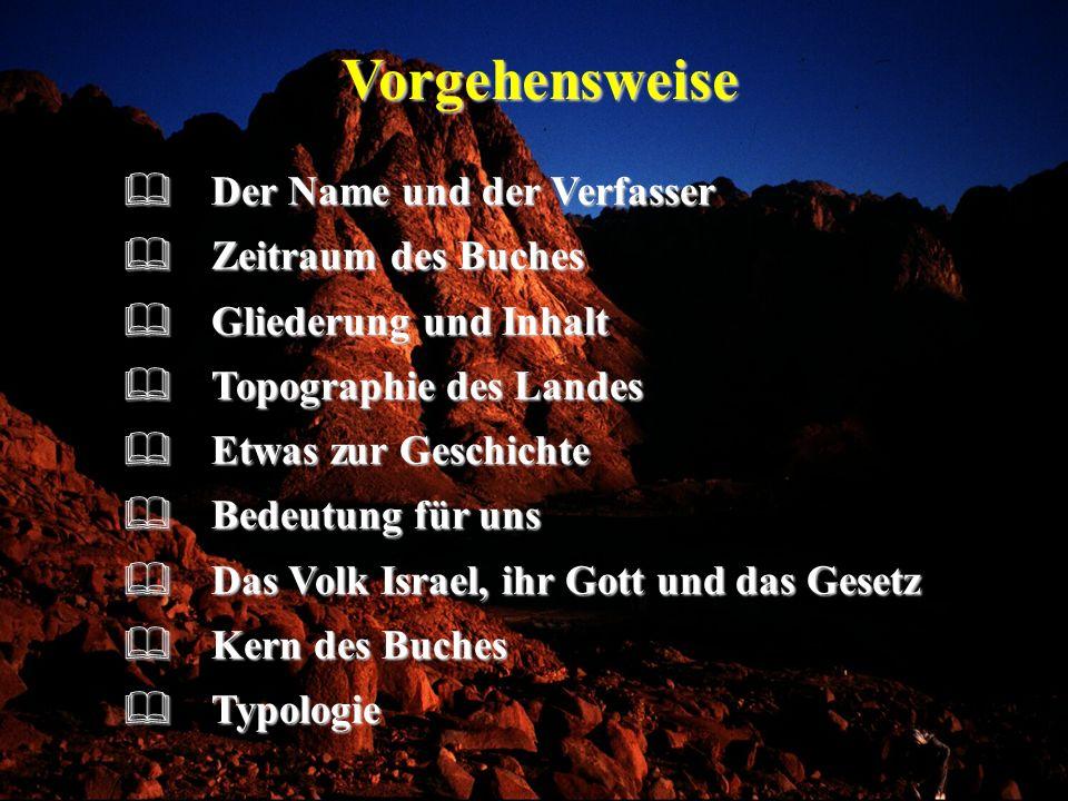 Typologie im 2.Buch Mose Das Passahfest Ein Vorbild des Herrn Jesus als das Lamm Gottes (vgl.