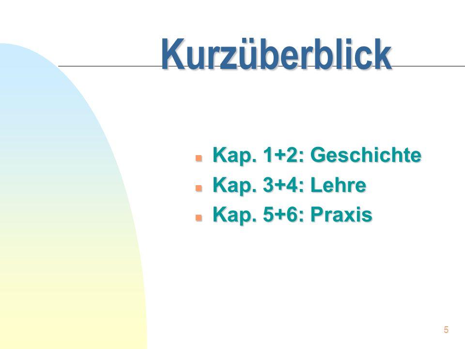 6 Geschichtlicher Teil n Kap.1,1-10: Einleitung n Kap.