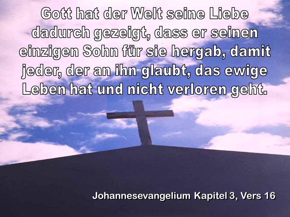 Johannesevangelium Kapitel 3, Vers 16
