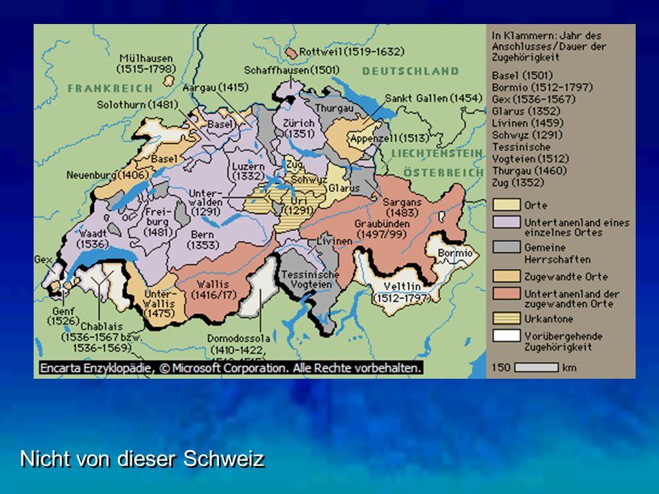 Nicht von dieser Schweiz