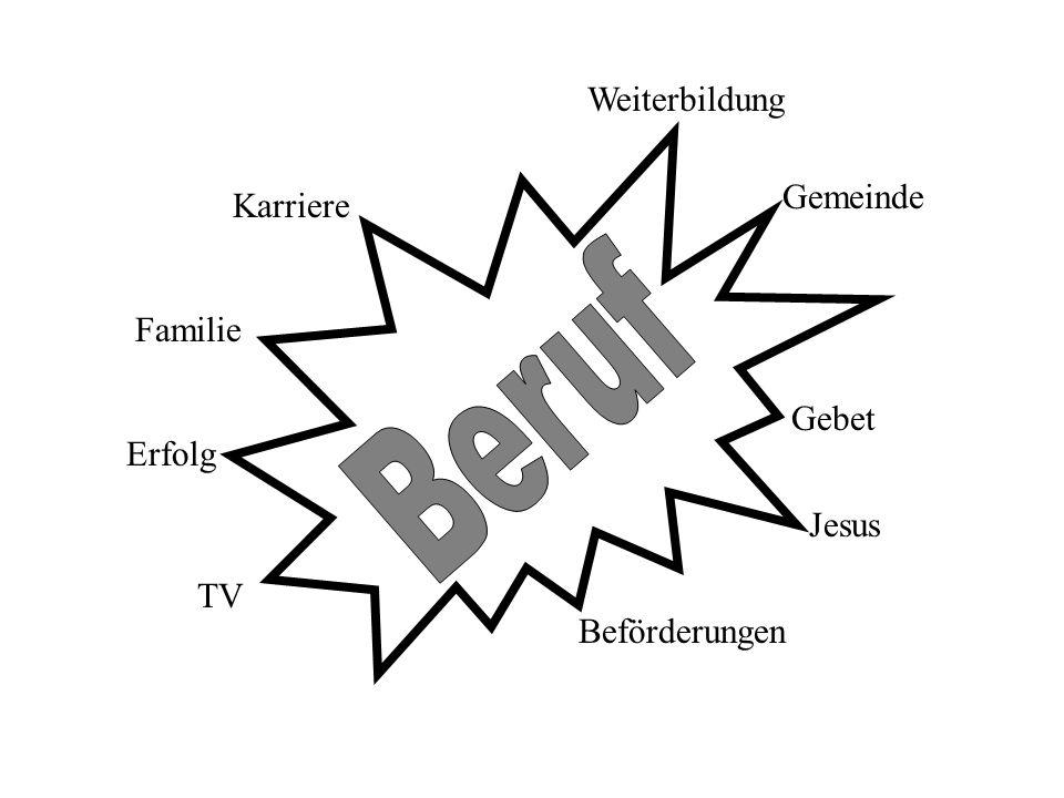 Weiterbildung Karriere Familie Erfolg Gemeinde Jesus Beförderungen Gebet TV