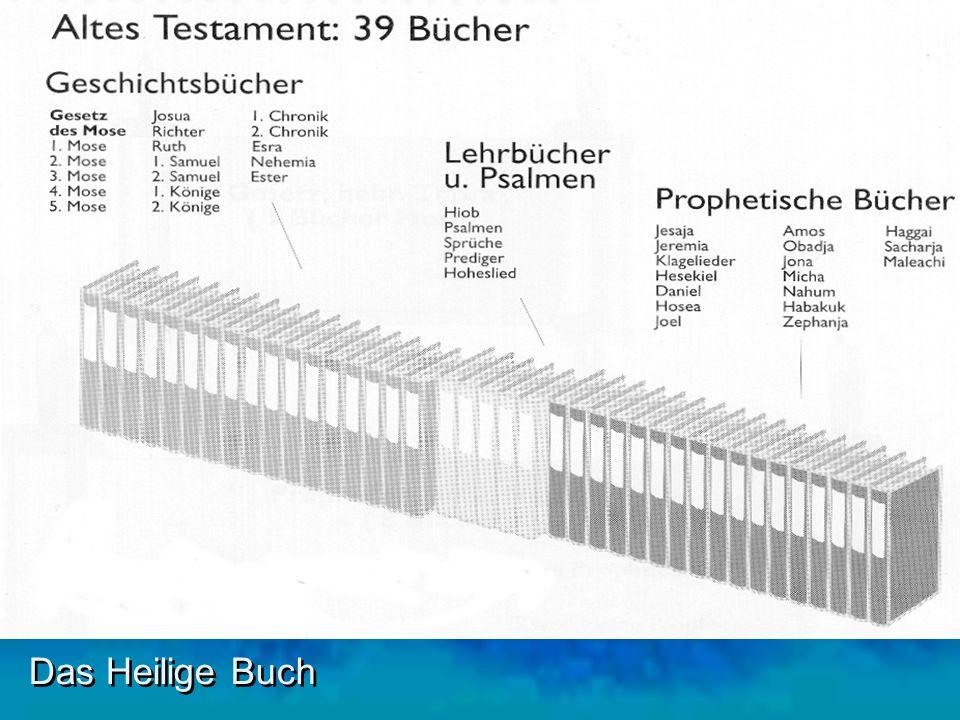 Das Heilige Buch Die Propheten sind vom Geist Gottes ergriffen worden und haben verkündet, was Gott ihnen aufgetragen hatte.