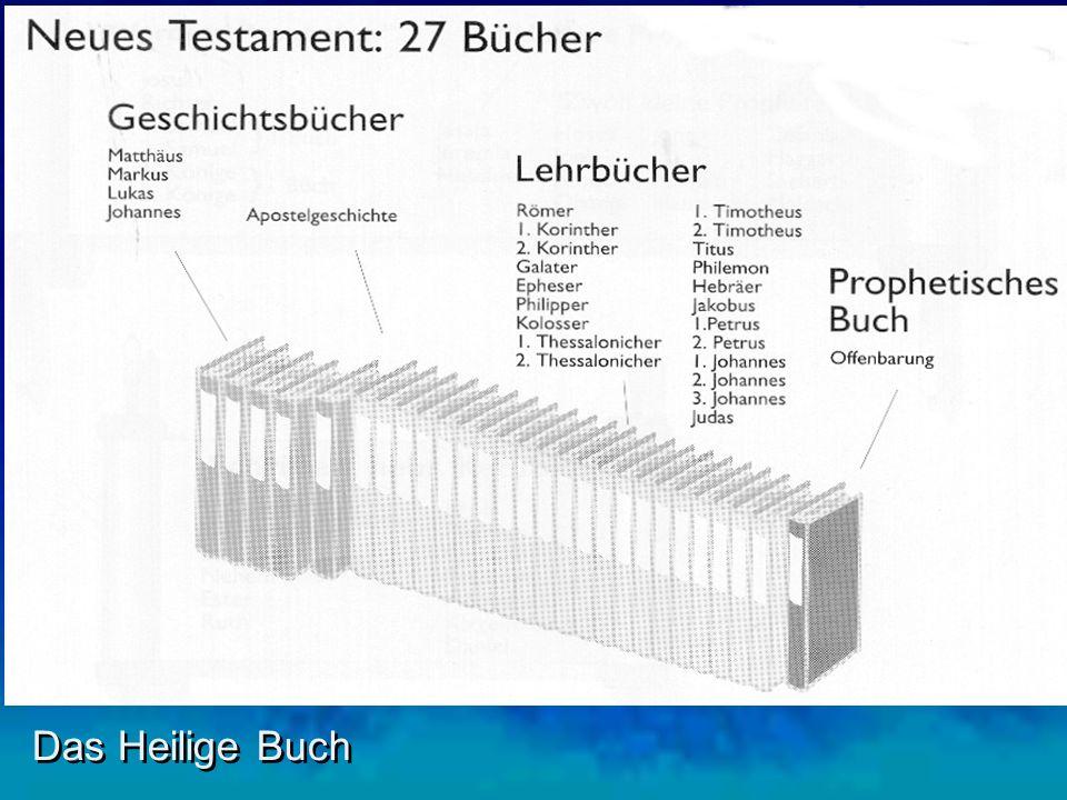 I. Viele haben sie geschrieben Das Heilige Buch 2. Verschiedene Schreiber