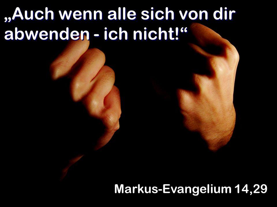 Wenn jemand den Herrn nicht liebhat, soll er verflucht und von Gott getrennt sein.