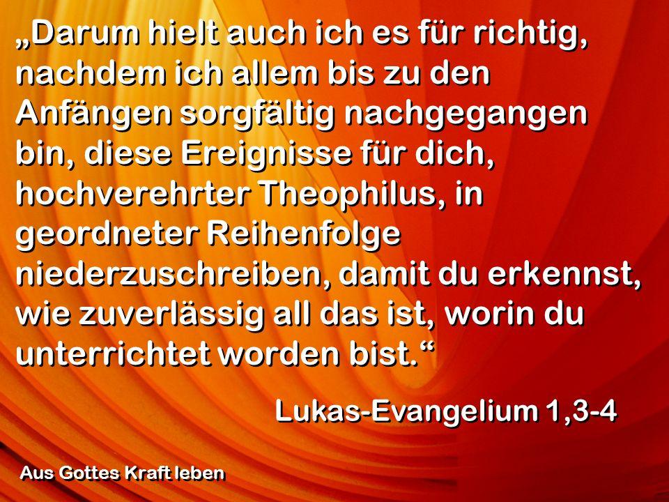 Wenn Christus nicht auferstanden ist, ist es sinnlos, dass wir das Evangelium verkünden, und sinnlos, dass ihr daran glaubt.
