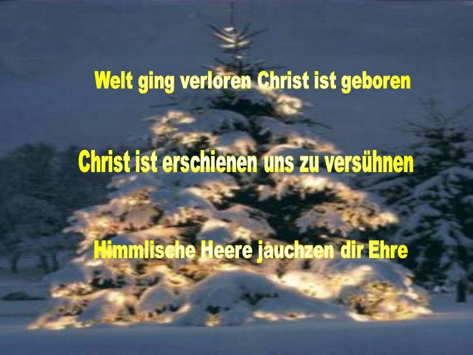 Gott hat die Menschen so sehr geliebt, dass er seinen einzigen Sohn hergab.