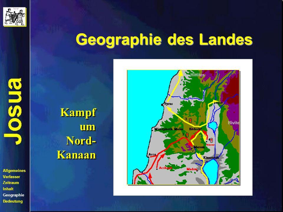 Geographie des Landes Verteilung des Landes Allgemeines Verfasser Zeitraum Inhalt Geographie Bedeutung
