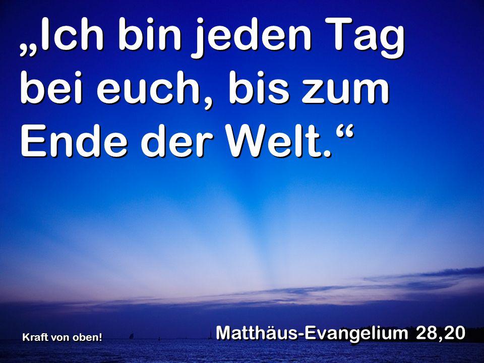 Eines Tages, während die Gemeinde dem Herrn mit Gebet und Fasten diente, sagte der Heilige Geist: Stellt mir Barnabas und Saulus für die Aufgabe frei, zu der ich sie berufen habe.