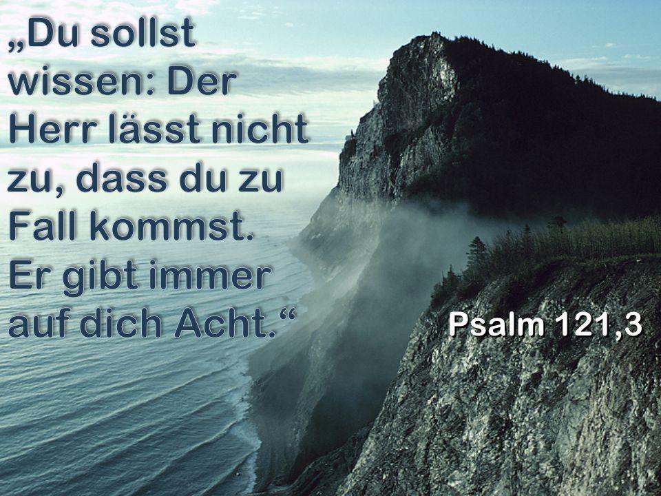 Psalm 121,3