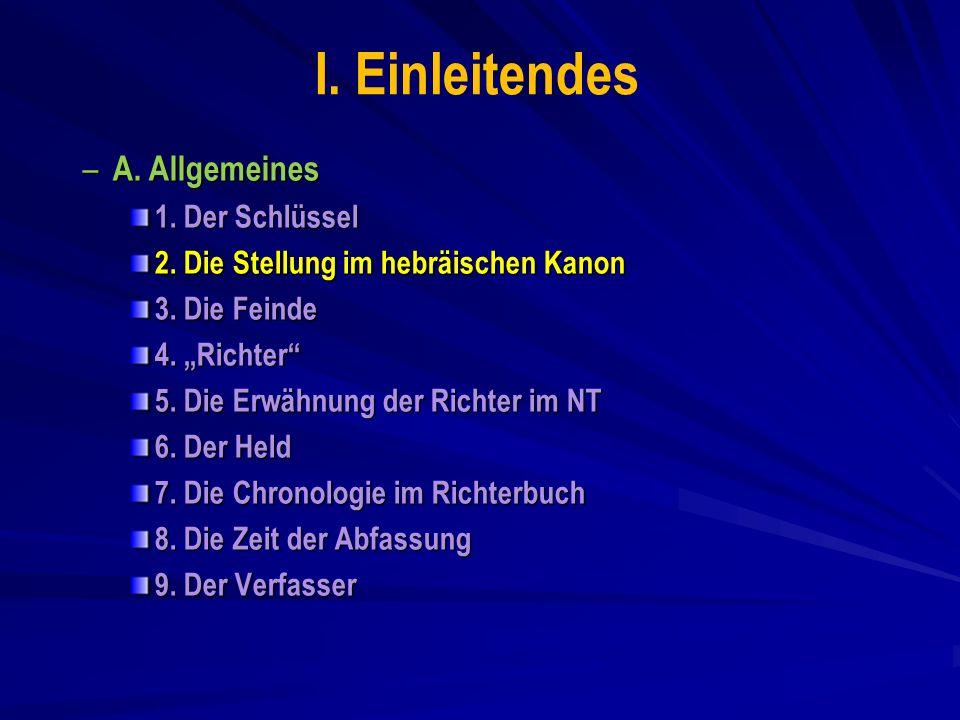 Buch Richter – Gliederung Vorwort 1,1- 2,5 Vorwort 2,6- 3,6 Nachwort 17,1- 18,31 Nachwort 19,1- 21,25