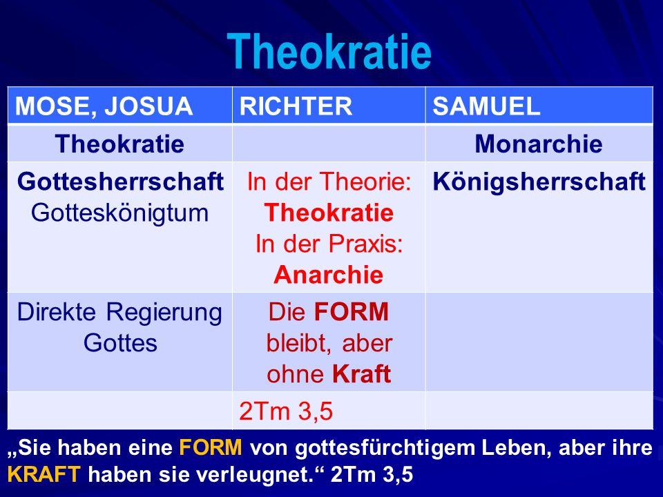 Drei große Feinde des Christen Ri 3A: Othniel: gegen ungöttliche Vermischumg (WELT) Ri 3: Ehud: gegen die Sünde im FLEISCH Ri 4: Debrah / Barak: gegen das heidnische DENKEN (d.h.