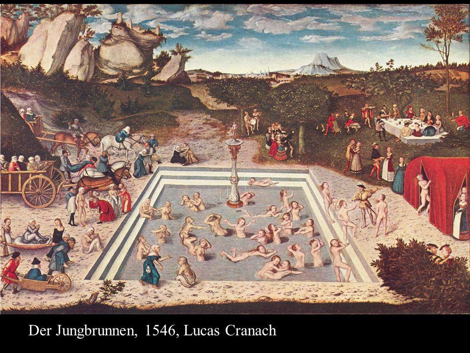 Der Jungbrunnen, 1546, Lucas Cranach