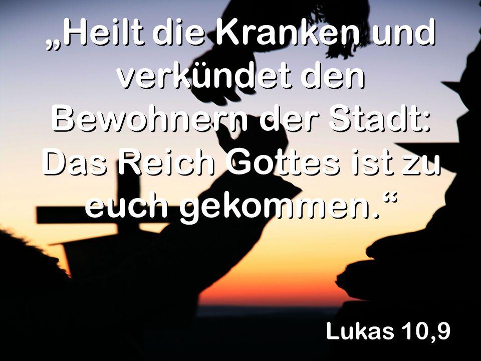 Lukas 10,17 Herr, sogar die Dämonen müssen uns gehorchen, wenn wir uns auf deinen Namen berufen!