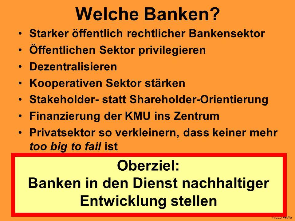Welche Banken.