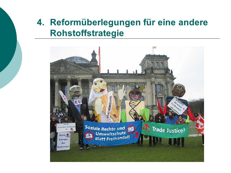 4.Reformüberlegungen für eine andere Rohstoffstrategie