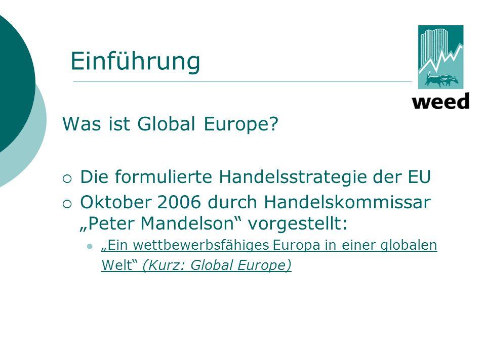 Einführung Was ist Global Europe.