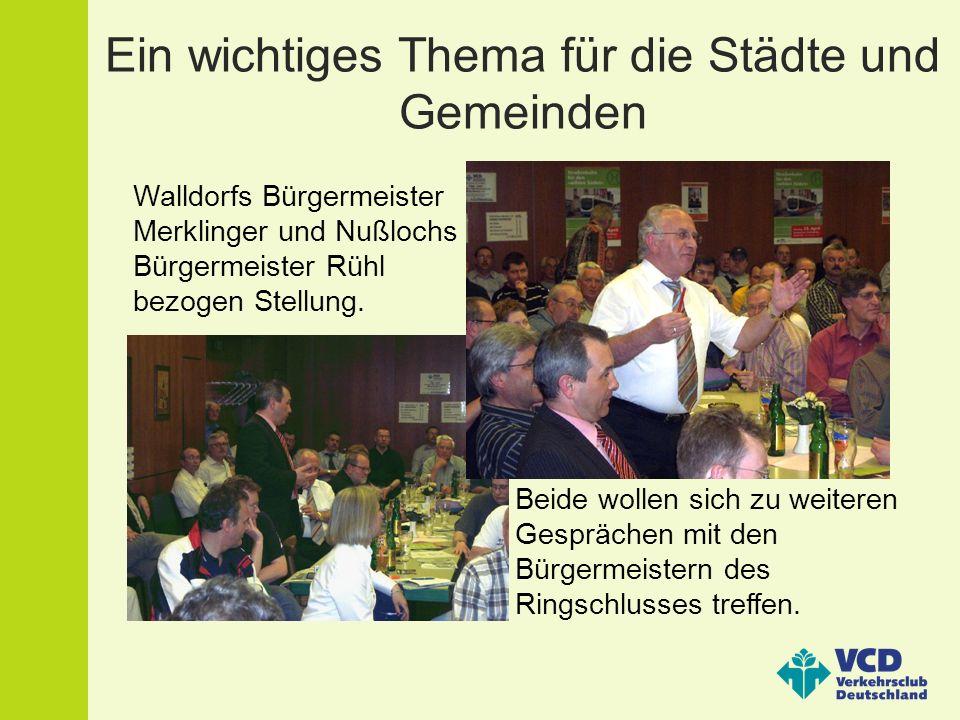 Klarstellung aus Leimen Der Oberbürgermeister Leimens, Wolfgang Ernst, ließ sich entschuldigen und machte gleichzeitig auf eine fehlerhafte Pressemitteilung aufmerksam.