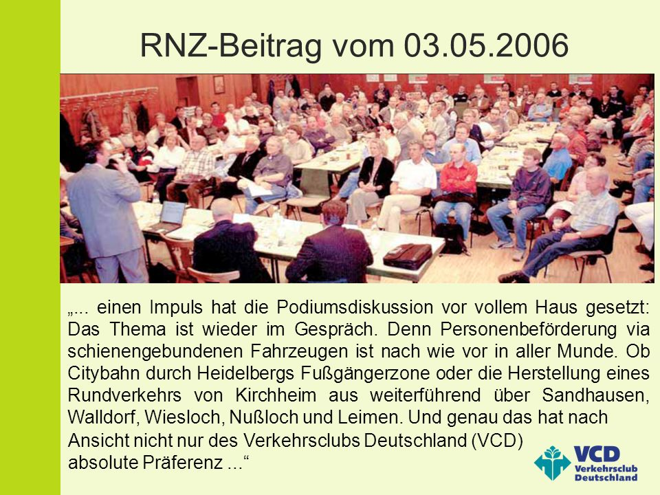 Briefkasten der RNZ Der Platz ist da von Uwe Hecker aus Wiesloch: Die etwas älteren Wieslocher werden sich noch erinnern.