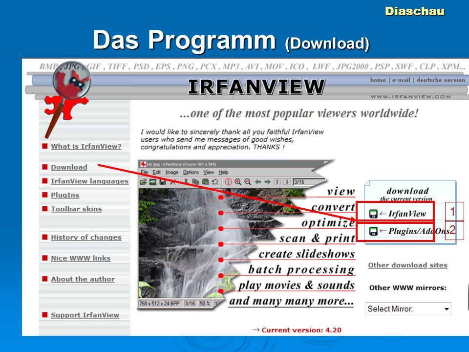 Diaschau Das Programm (Download) 1 2
