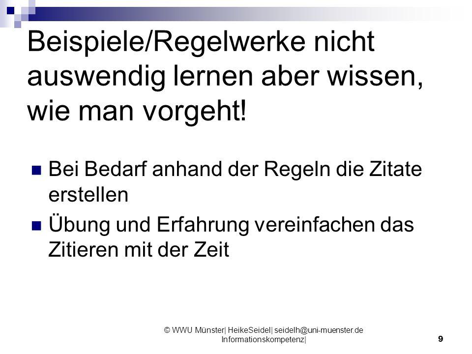 10 Bücher: Literaturliste (Reference List) Beispiel aus Schmidtke: Vorname(n) Nachname: Titel.