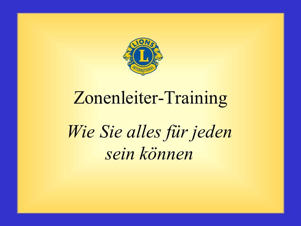 Zonenleiter-Training Wie Sie alles für jeden sein können