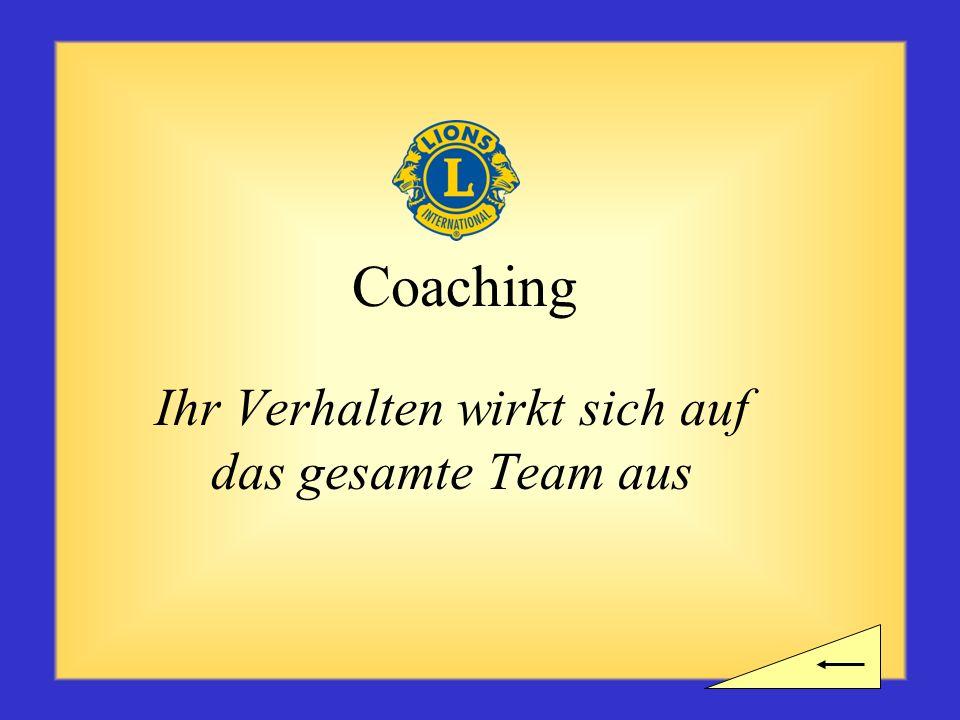Pause? Brauchen Sie eine kurze Verschnaufpause, ehe Sie sich dem nächsten Unterrichtsabschnitt zum Coaching widmen?
